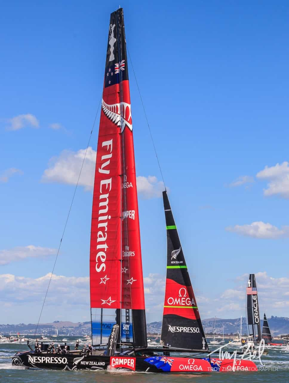 America's Cup 2013 Finishes