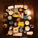 Artful Onsen Japanese Breakfast