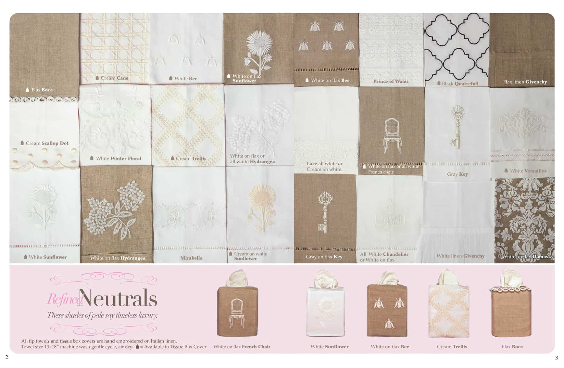 Haute Home Linens Catalog