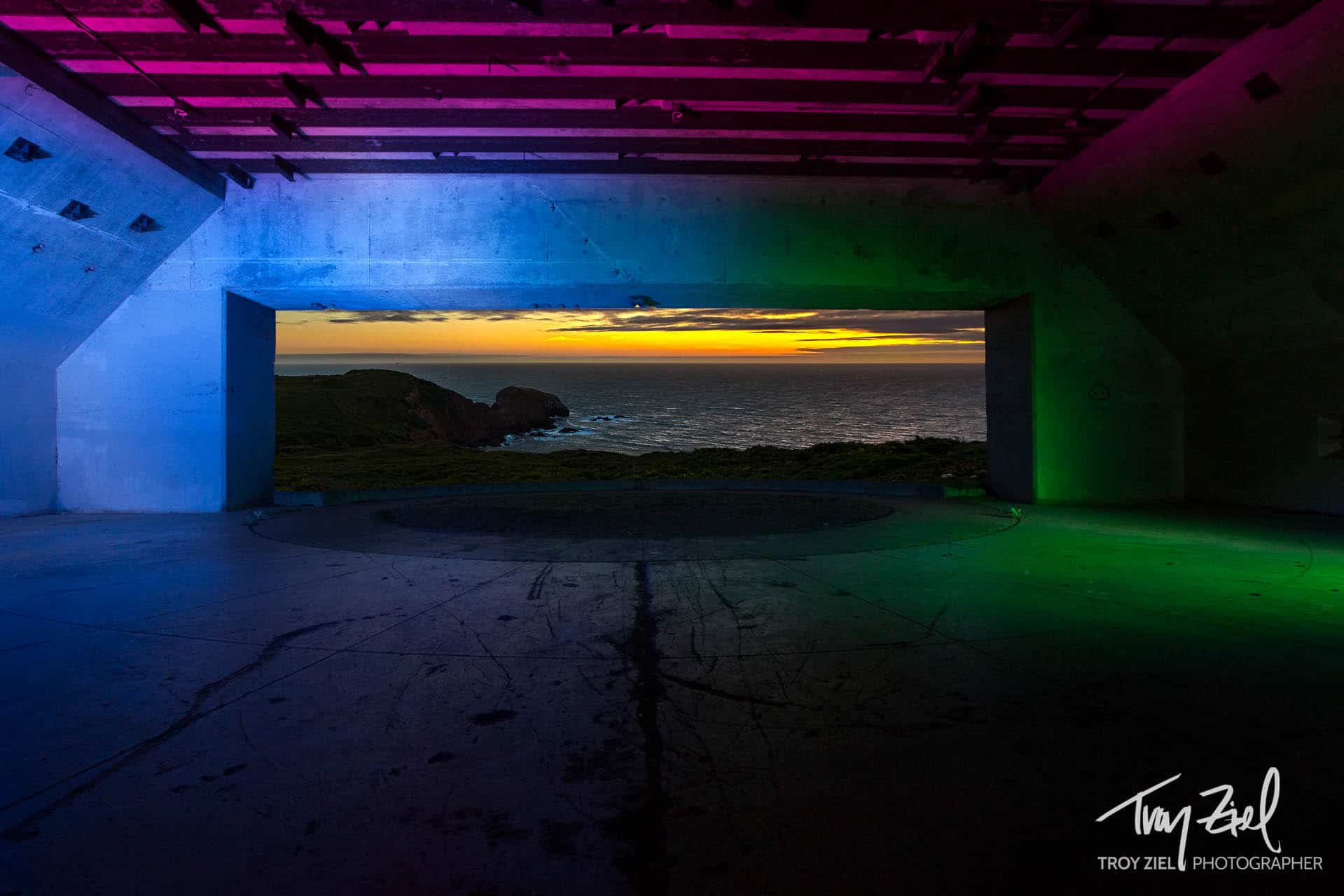Light Painting in the Marin Headlands