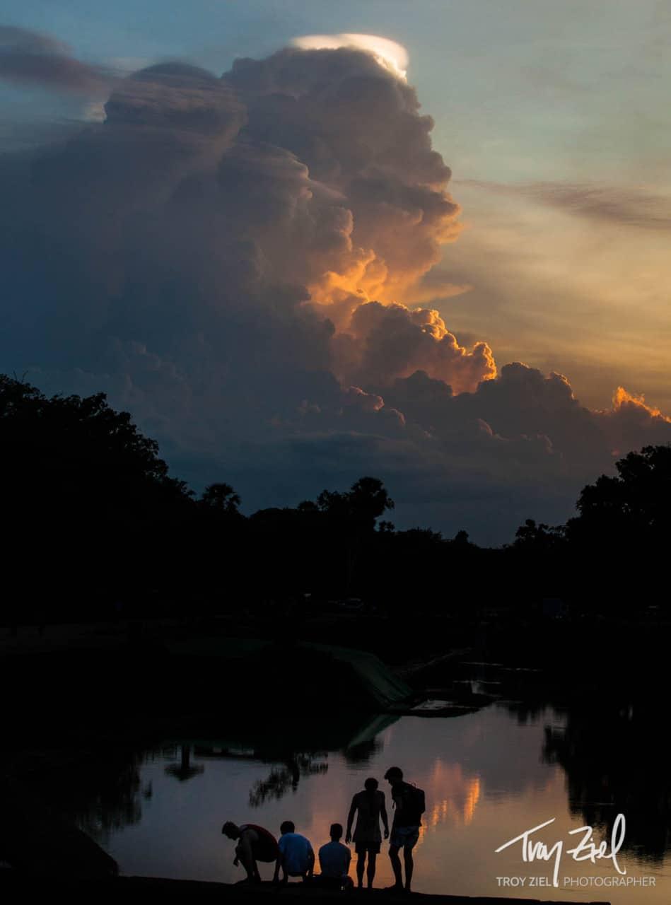 The Wonder of Angkor Wat - Sunset