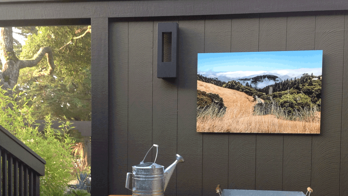 Art Collector Commissions Troy Ziel for Outdoor Patio Print on Metal, Marin CA